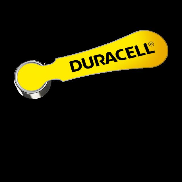 Standalone yellow 10 hearing aid battery