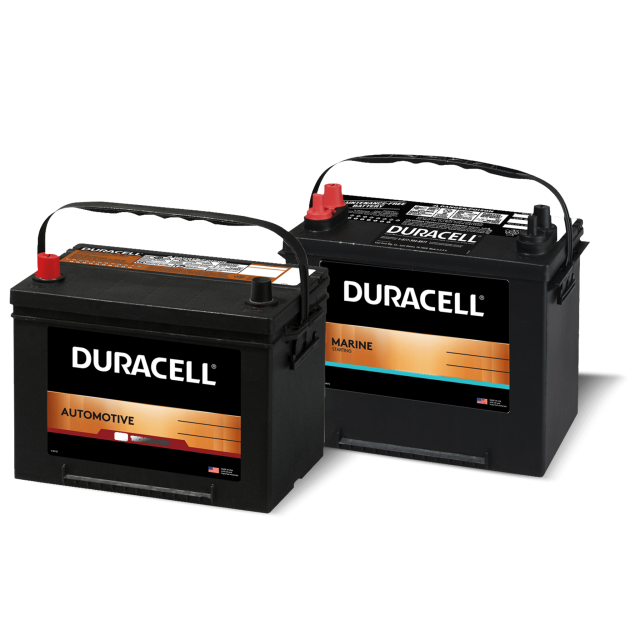 Automotive and Marine batteries