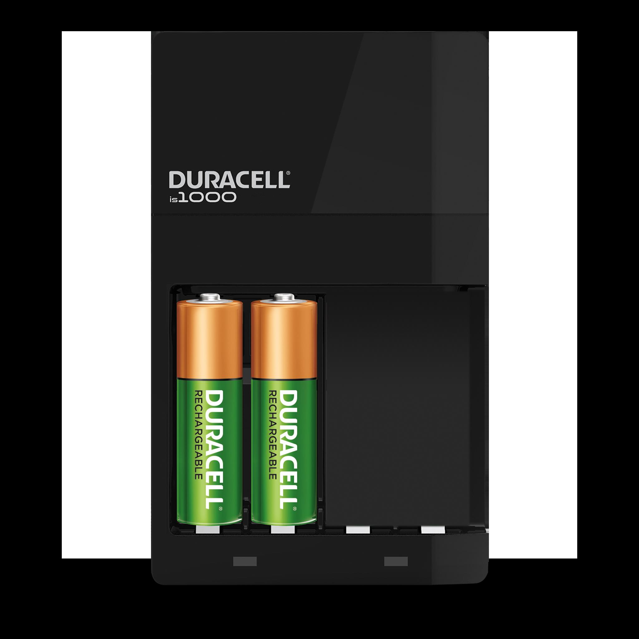 Unité de recharge noire contenant 2 piles