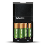 Unité de recharge noire contenant 4 piles