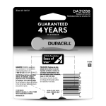 312 Hearing Aid Battery 8 pack back