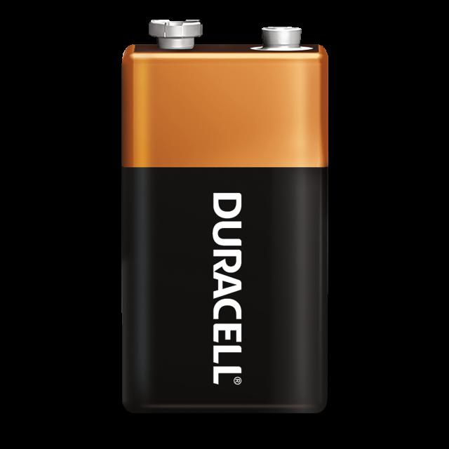 Standalone Coppertop 9v battery