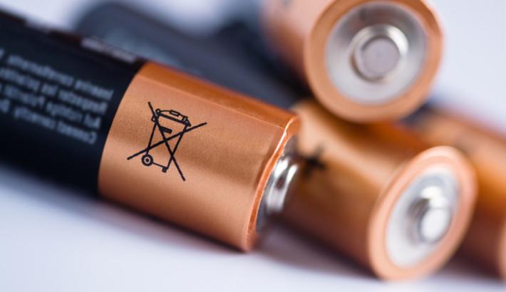 Ne jetez pas l'icône sur le côté de la batterie